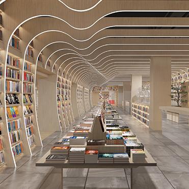 空间设计 | 覔书店-珠海店